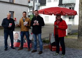 Die SPD, heute in Burlafingen...